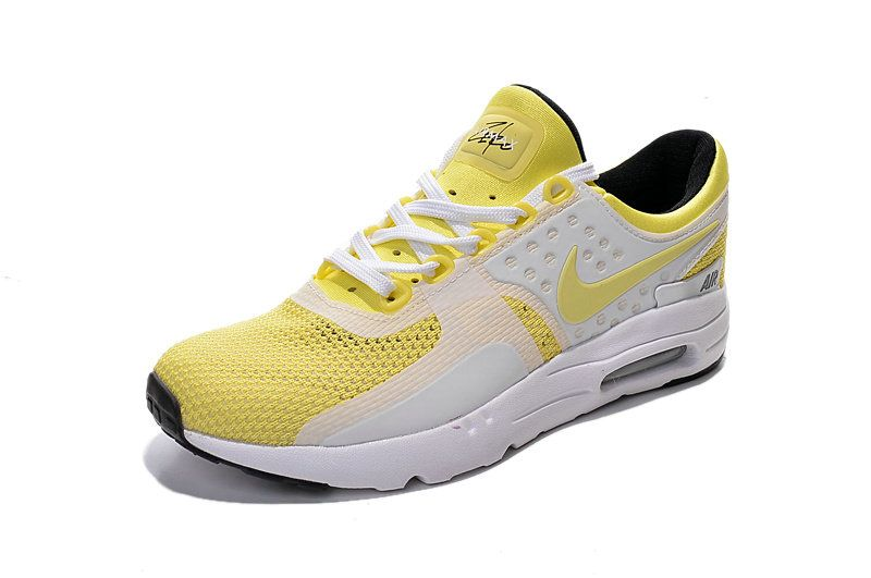 low priced 6fa72 31dc3 Free Shipping Only 69  Nike Air Max Zero 2016 Yellow White