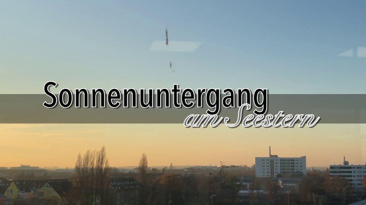 Sonnenuntergang Am Seestern Düsseldorf YouTube