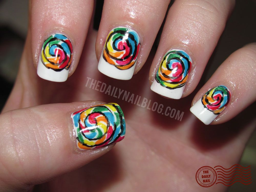 The Daily Nail This Site Is Awesome She Did Nails Every Day And