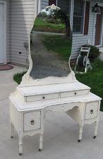 vintage vanity dresser with mirror. Princess Antique Child Chic Bedroom Vintage Vanity Dresser Mirror Makeup  Desk