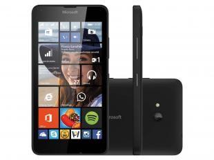 """Smartphone Microsoft Lumia 640 Dual Sim DTV 3.5G - Dual Chip Windows Phone 8.1 Câm. 8MP Tela 5"""" Por R$ 699,00  em até 10x de R$ 69,90 sem juros no cartão de crédito  ou R$ 608,13 à vista"""