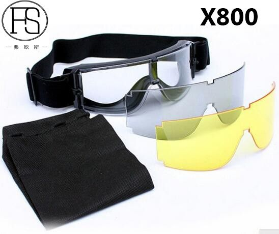 0b9d8c315cf00 Safety Goggles USMC Airsoft X800 Sunglasses Motorcycle Eyewear Cycling  Riding Eye Protection Use. Eyewear Dos HomensÓculos ...