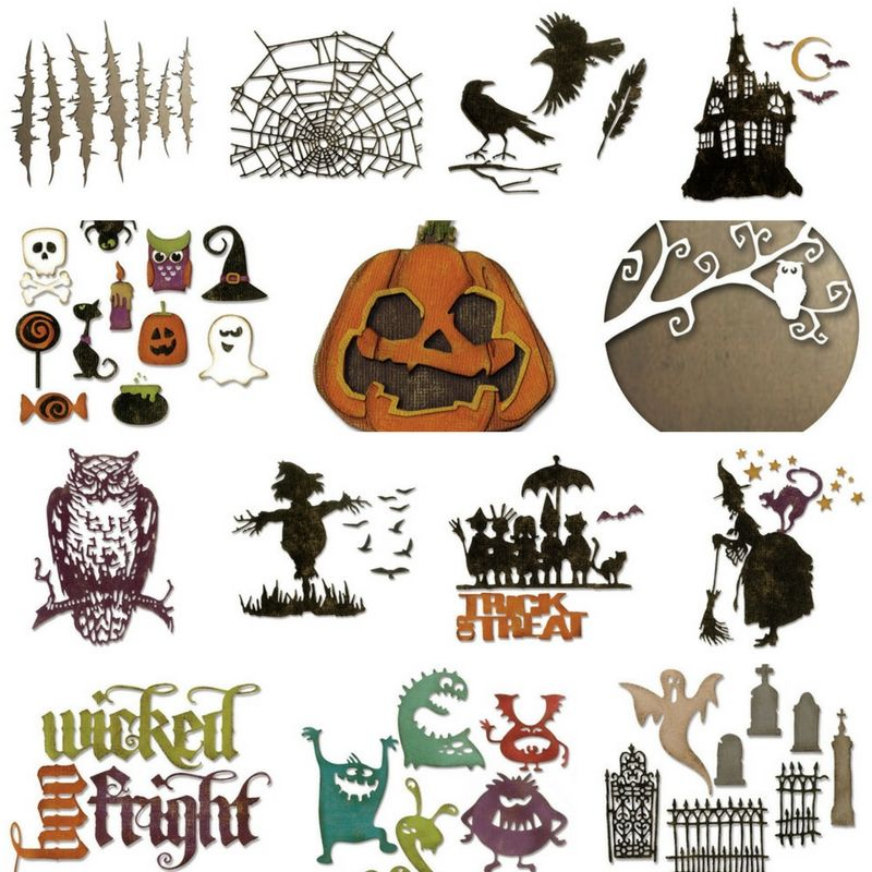 Coming soon from tim holtz halloween and christmas