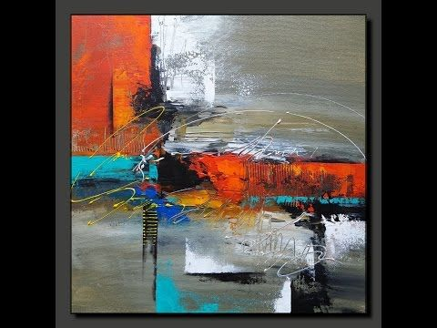 Acrylic Abstract Painting In Just 7 Minutes Real Time Speed Painting Demo Youtube Abstract Painting Painting Demo Abstract Painting Acrylic