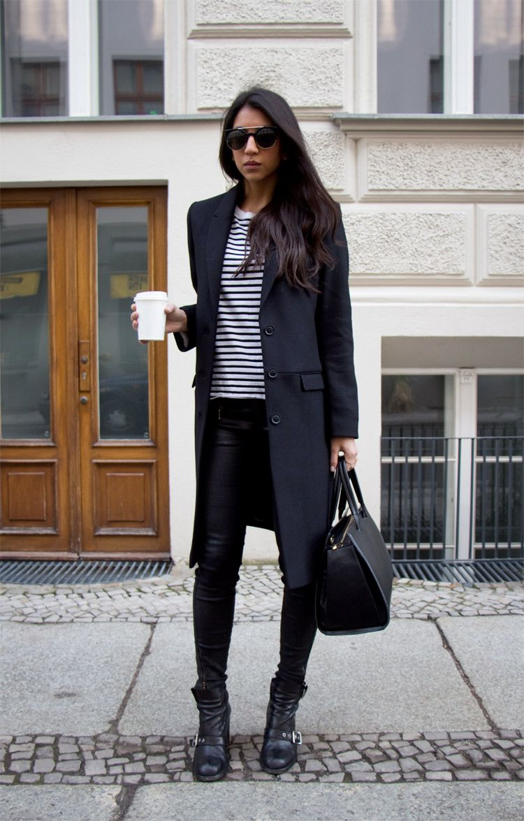 All About Fashion Fall Winter Looks From Black Girls: Black And Other Stories Coat, Black Winter Coat, Stylish