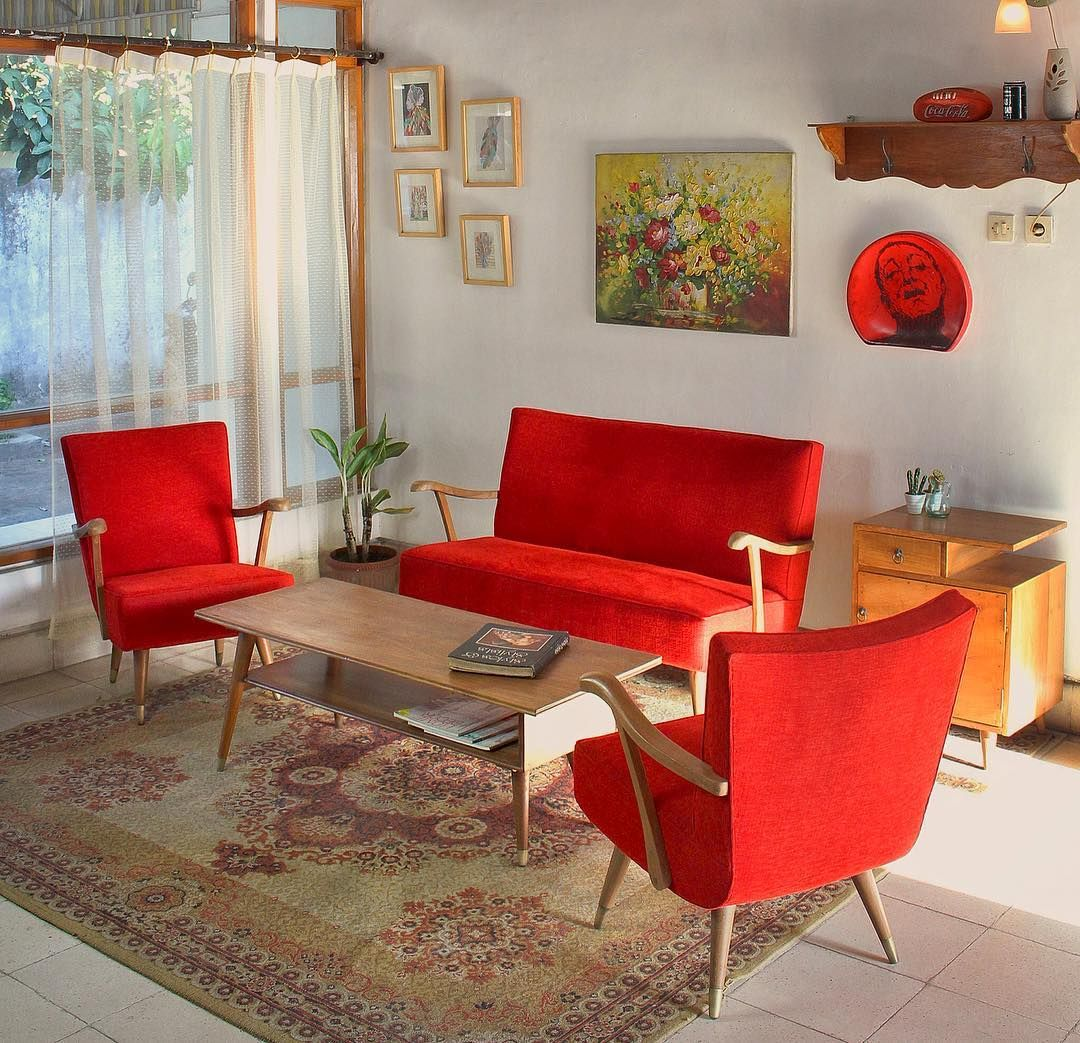 Desain Ruang Tamu Modernvintage Ruang Tamu Minimalis Pinterest