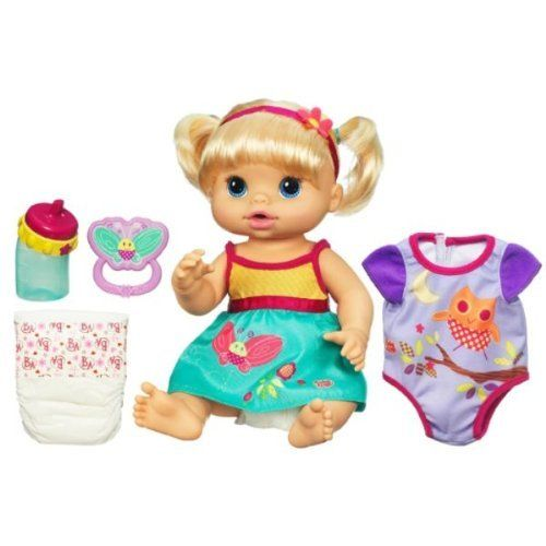 Exclusive Baby Alive Dress N Slumber Drink Amp Wet Doll By