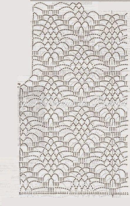 3636feb4c Pérolas do Crochet: Colete Kimono em croche com gráfico | celia ...