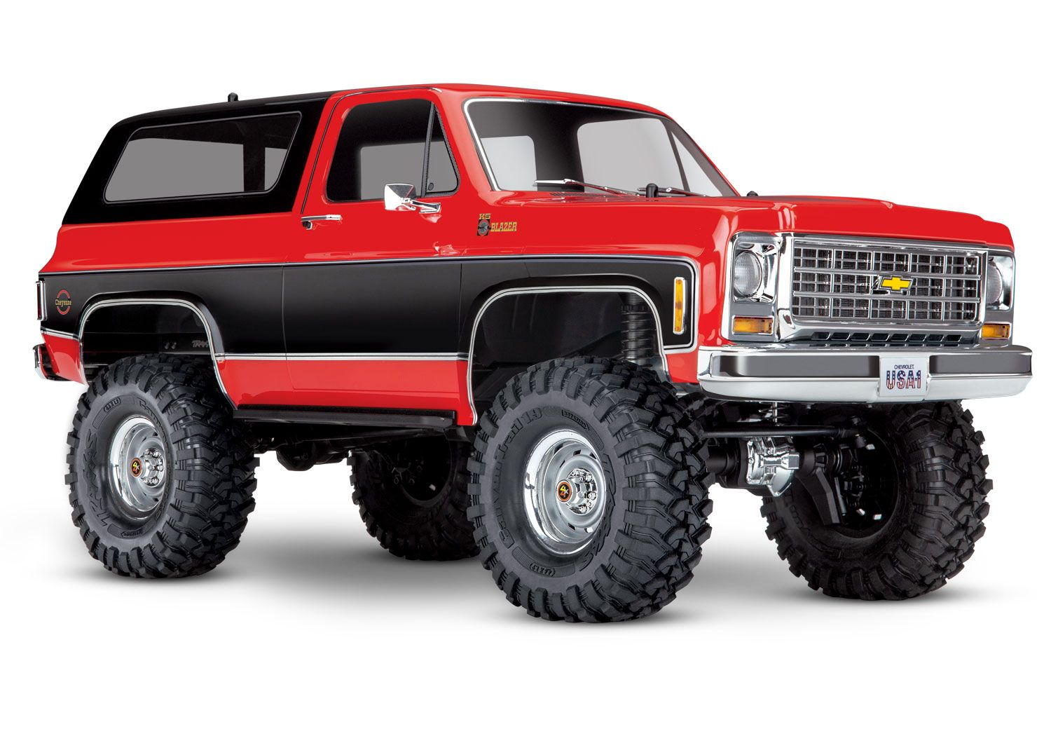 This Rc Chevy Blazer From Traxxas Is A Gift We D Make To Ourselves Top Speed Chevrolet Blazer Traxxas Rc Trucks