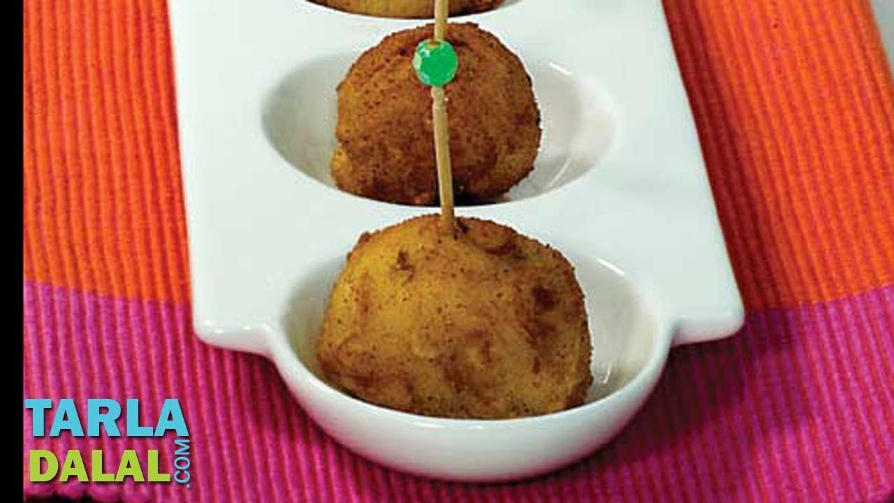 How to make cheese corn balls video