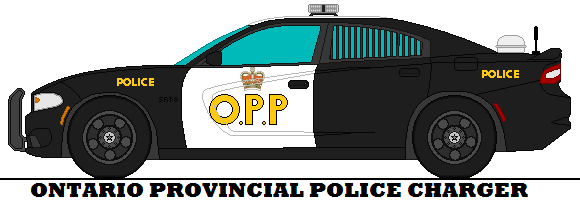 Ontario Provincial Police Charger By Mcspyder1 Deviantart Com On Deviantart Police Cars Police Old Police Cars