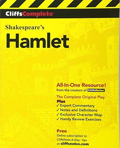 Cliffscomplete Shakespeare S Hamlet Paperback May 29 2000 In 2020 Shakespeare Hamlet Shakespeare Words Shakespeare
