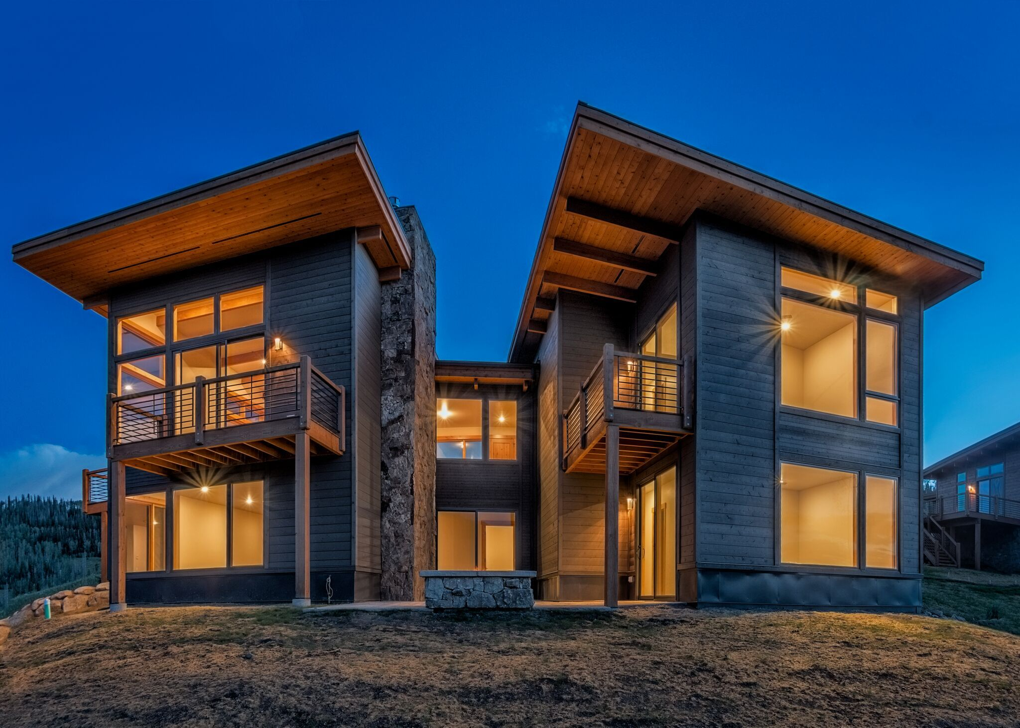 Modern Homes Colorado Summit Sky Ranch Mountain living