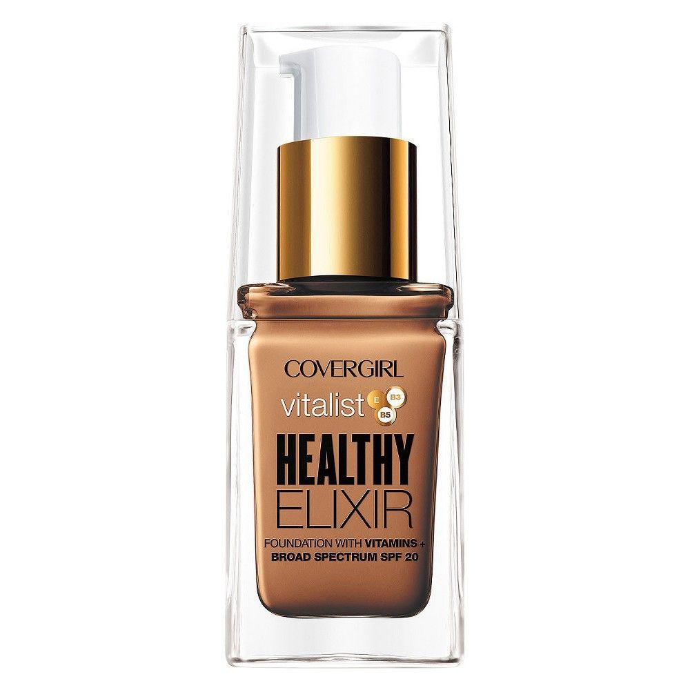 Covergirl vitalist healthy elixir foundation 757 golden