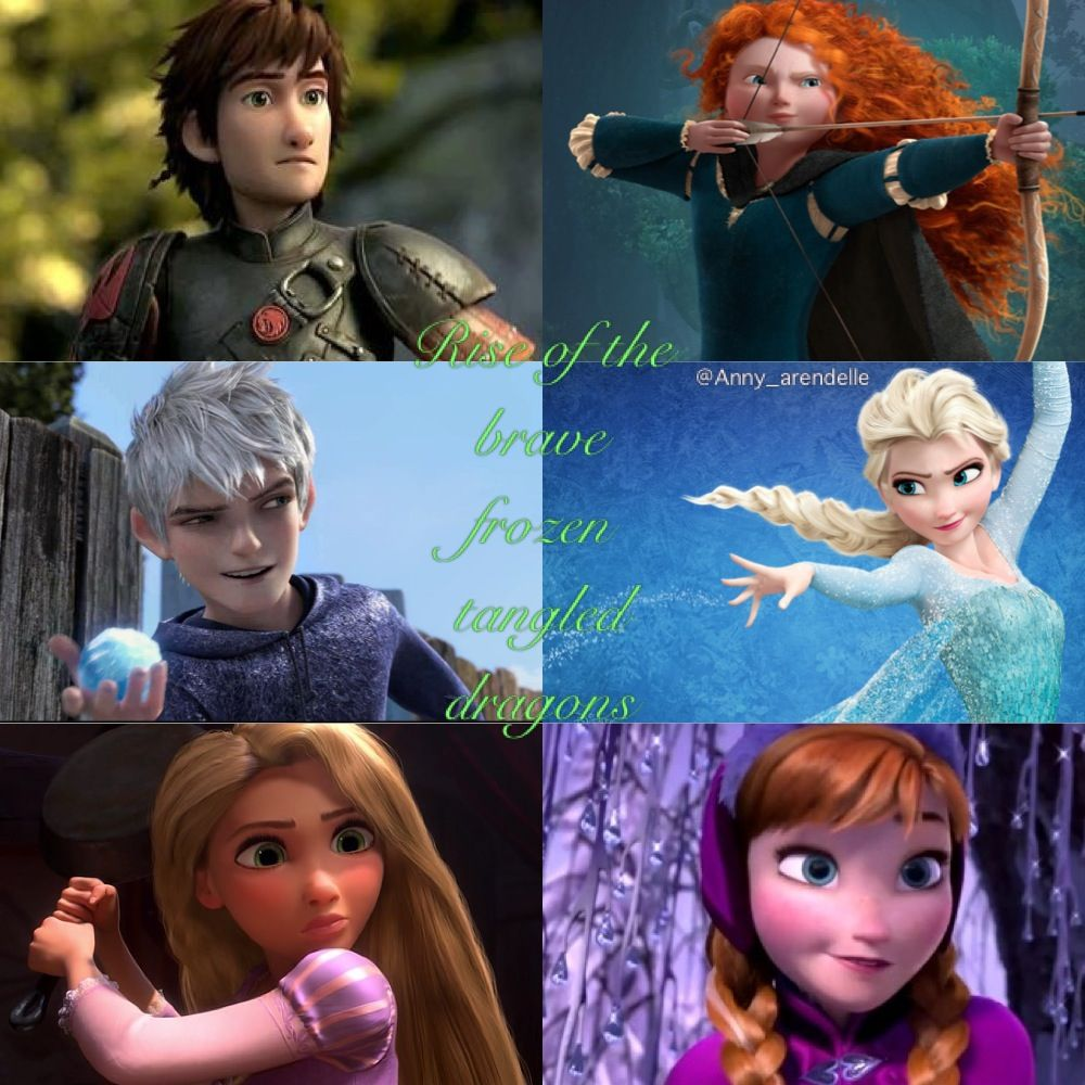 The Big Six In Instragram Anny Arendelle Big Six Disney Movies The Big Four