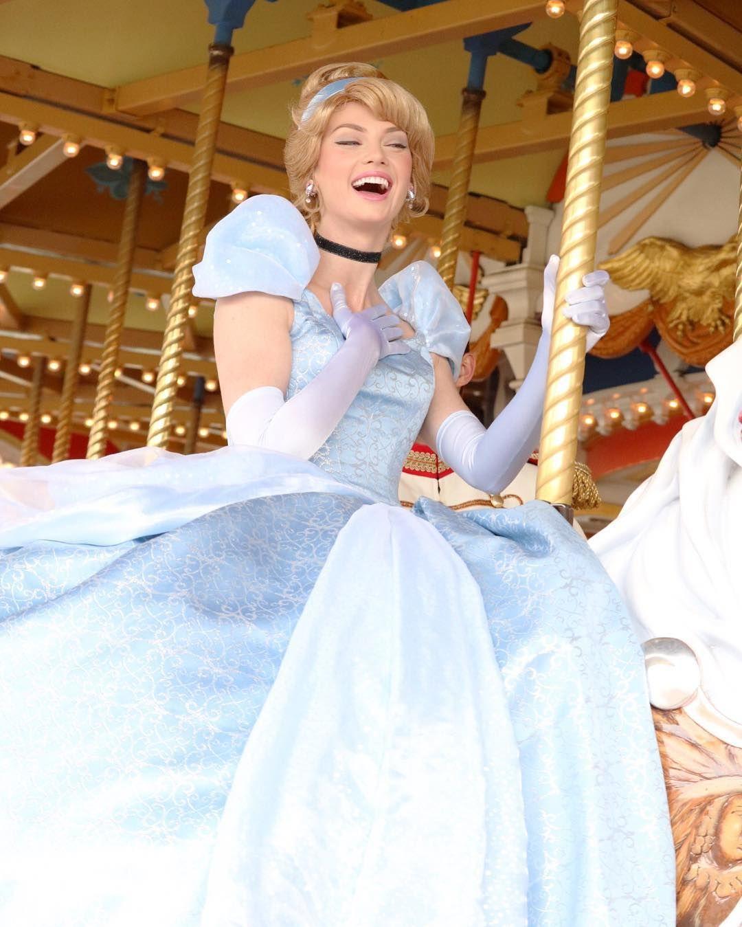 Disney Princess Cosplay, Cinderella Face