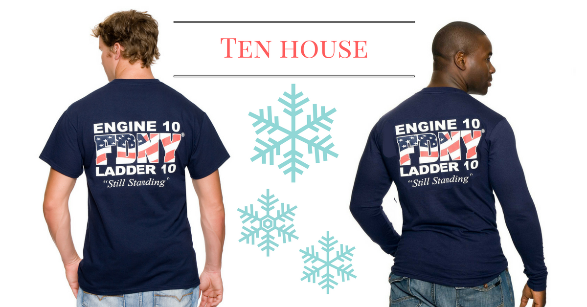 ed063c42 FDNY Firefighter shirts, patches and pins. Officially licensed #FDNY Ten  House Tees and sweats! Click the link to shop online!