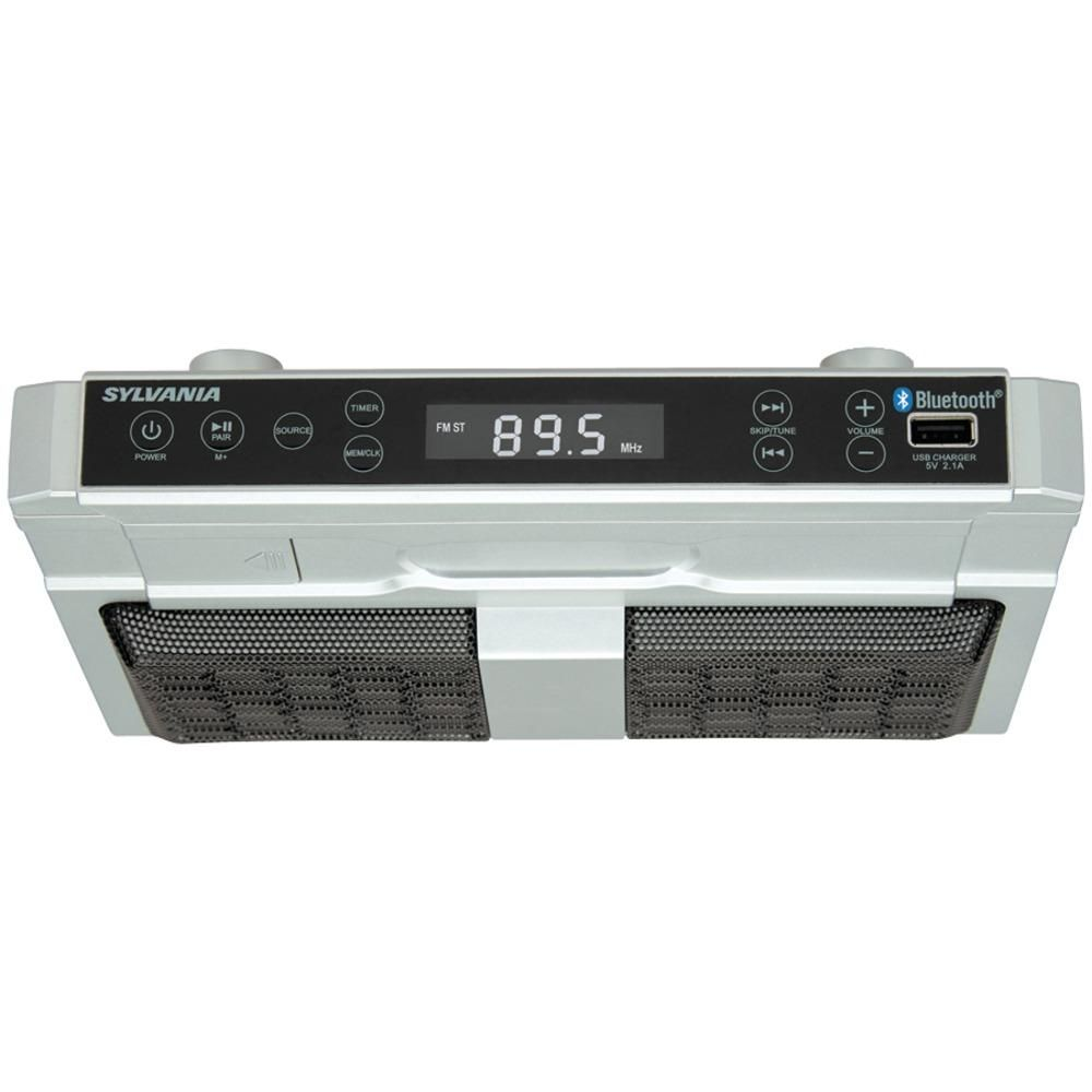 Sylvania Bluetooth Under-cabinet Kitchen Radio   Bluetooth and Products