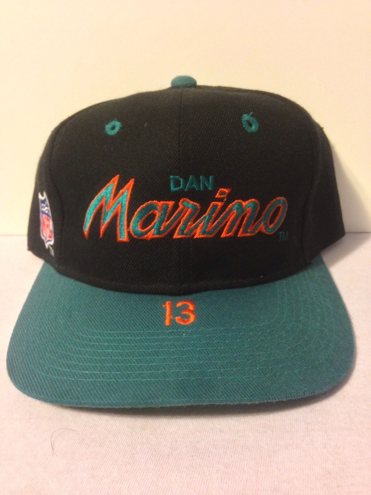 Dan Marino Sports Specialties Vintage Snapback Hat Miami Dolphins NFL RARE   1b50dc249