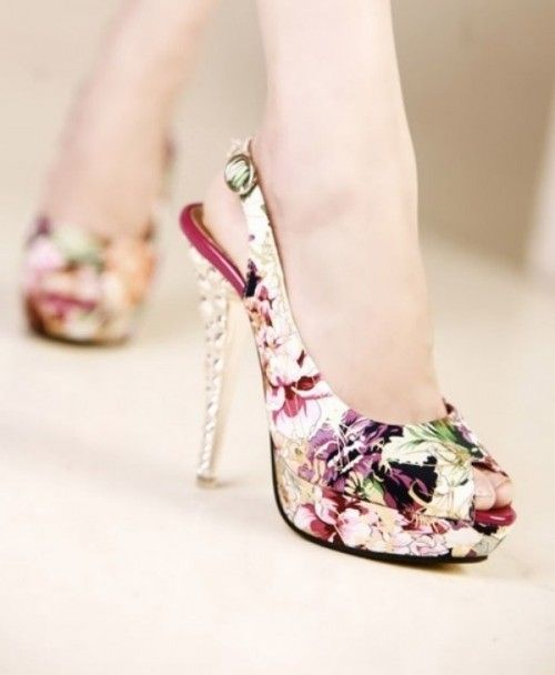 Fashionable And Stylish Floral Print