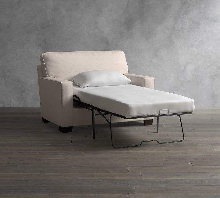 Arm Upholstered Twin Sleeper Sofa