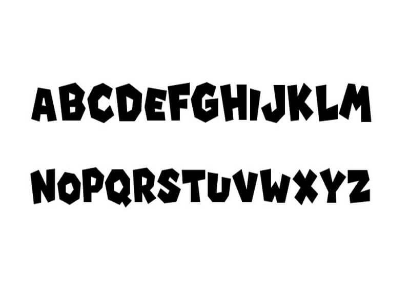 Super Mario Font Free Download - Fonts Empire | Super Mario