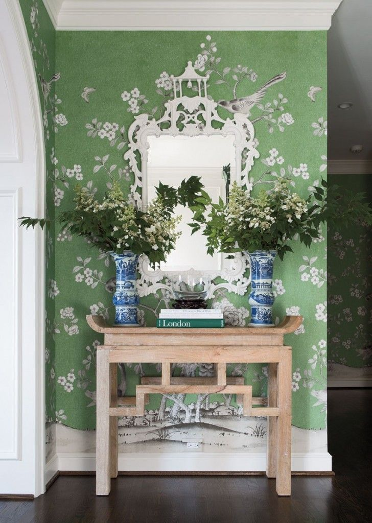 Green Perfection Chinoiserie Decorating Decor Chinoiserie