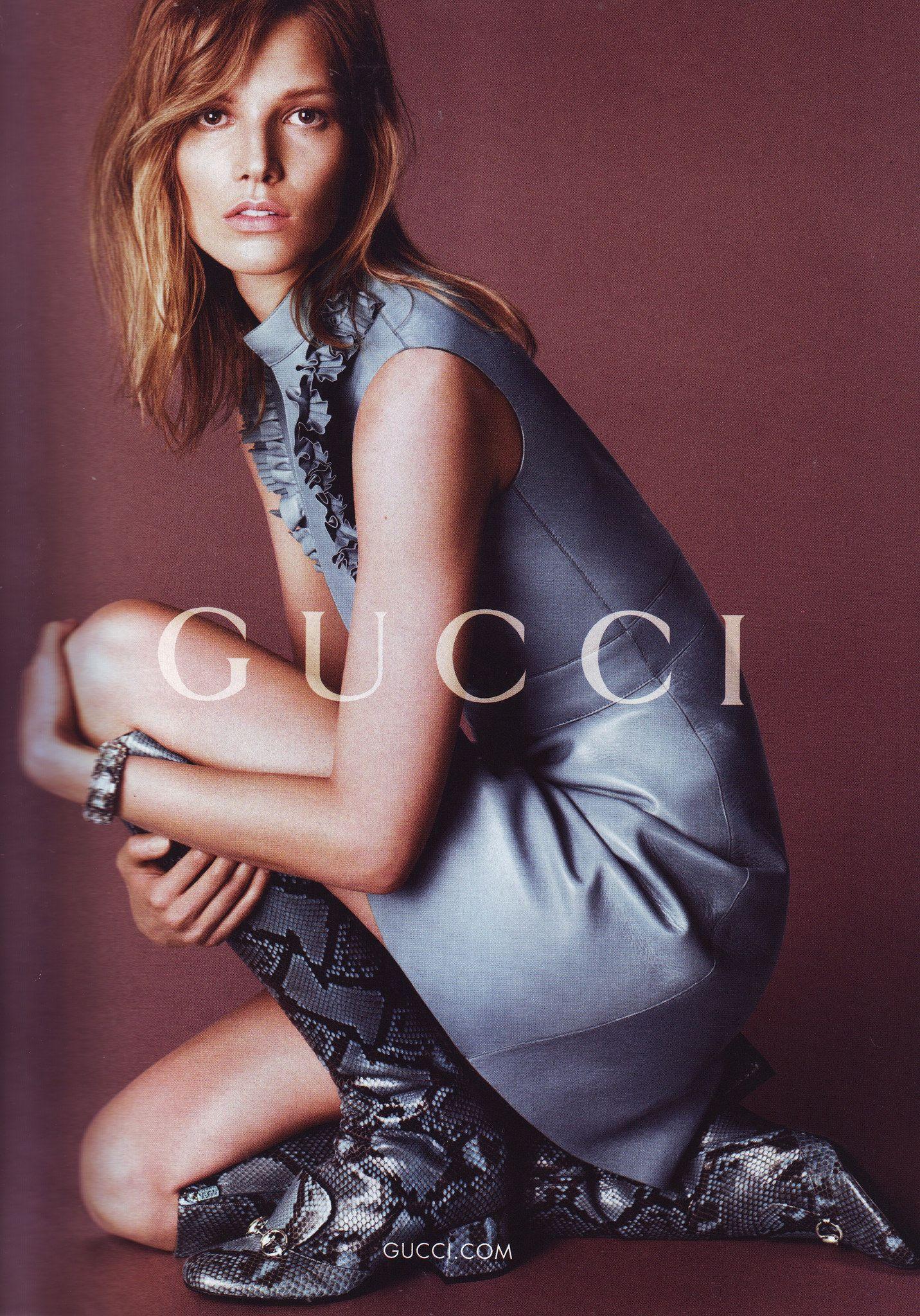 , Vogue Fall 14 Gucci 1, Anja Rubik Blog, Anja Rubik Blog