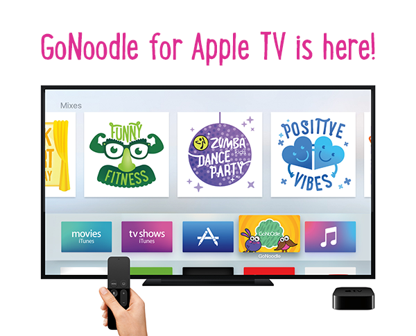for Apple TV Gonoodle, Apple tv, Educational technology