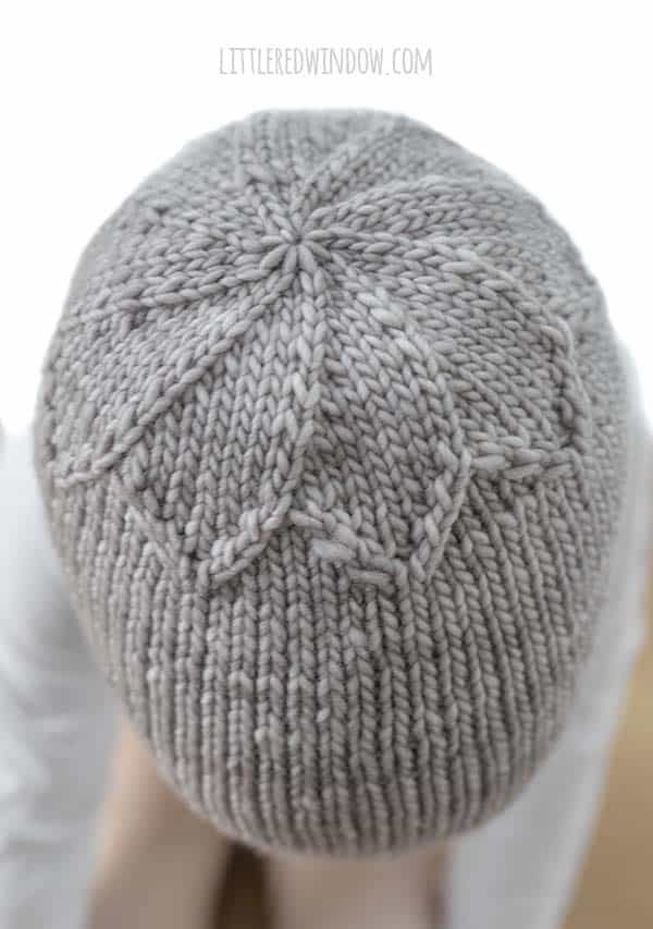 Photo of Petal Top Hat Knitting Pattern