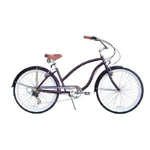 Chief Cruiser Bicycle Multi Speed 7sp Firmstrong Women S 26 Dark Purple On Sale Cruiser Bicycle Beach Cruiser Bicycle Bicycle