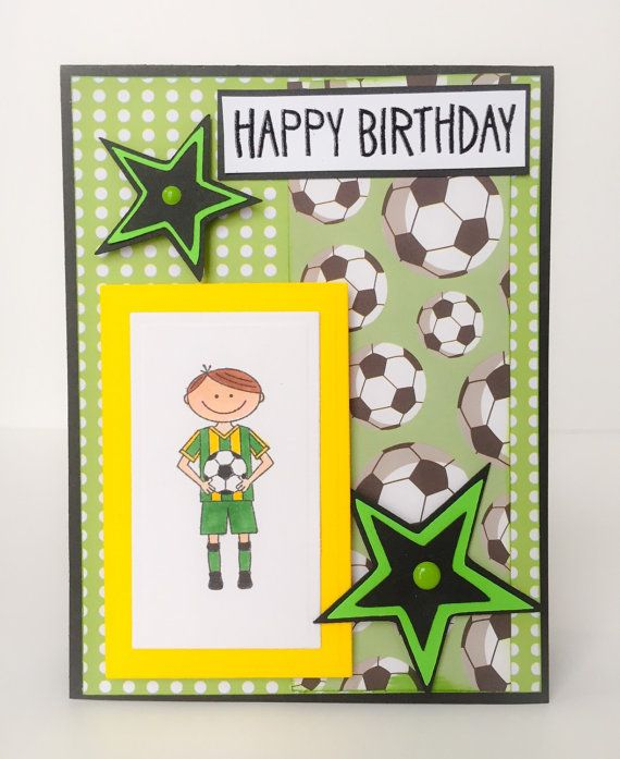 Handmade Birthday Cards For Young Boys