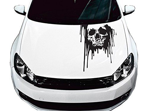 AmazonSmile Universal Bloody Skull Truck Or Car Hood Graphics - Best automobile graphics and patternsbest stickers on the car hood images on pinterest cars hoods