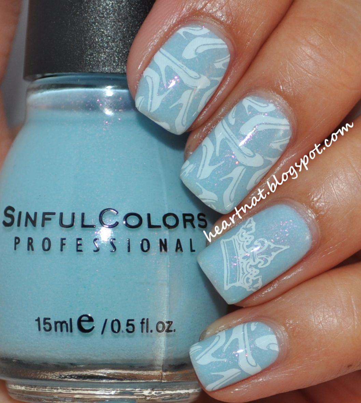 cinderella nail art - Google Search - Cinderella Nail Art - Google Search Nail Stamping Pinterest