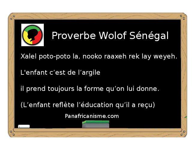 Favori Proverbe Wolof du Sénégal | Proverbs - Quotes | Pinterest  AX29