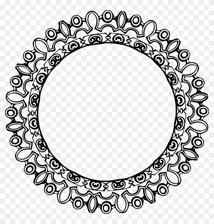 Find Hd Free Png Download Round Black Border Frame Clipart Border Round Design Png Transparent Png To Sea Frame Clipart Clip Art Borders Free Png Downloads