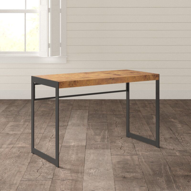 Enes Desk Reviews Allmodern Office Furniture Modern Furniture Solid Wood Desk