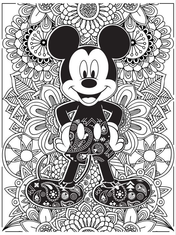 Kleurplaten Volwassenen Disney.Celebrate National Coloring Book Day With Disney
