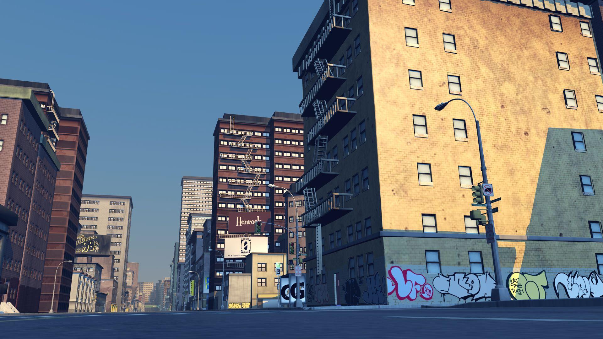 Backgroundblokhedz Animation Background Scenery Background Street Background