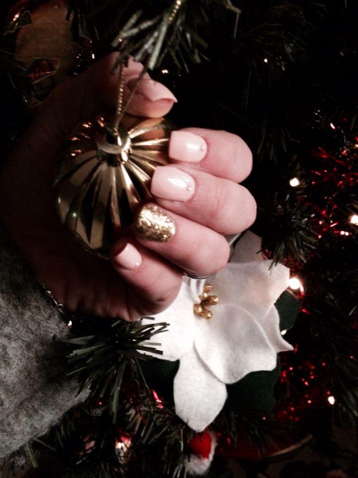 My nails Christmas