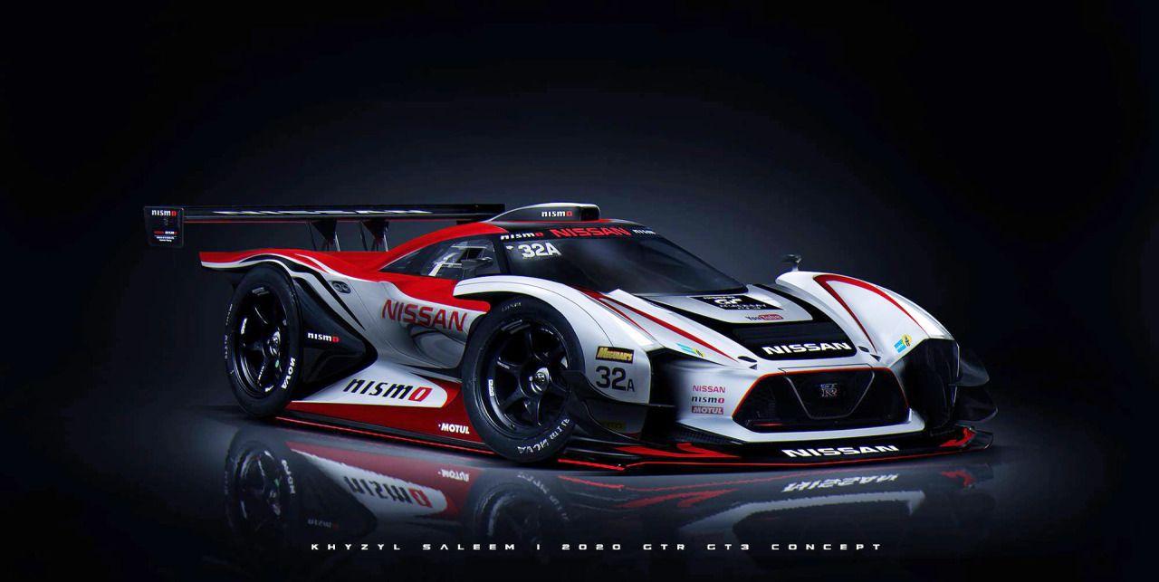 Nissan VGT GT3 Concept by Khyzyl Saleem   Cyberpunk Cars ...
