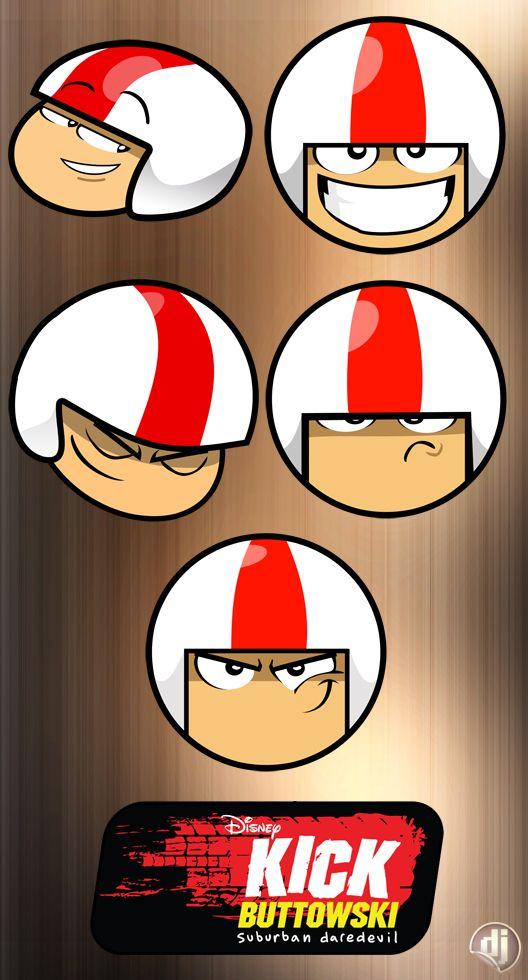 Kick Buttowski Icon Set Imagens De Caminhao Desenhos Adesivos Desenhos Animados