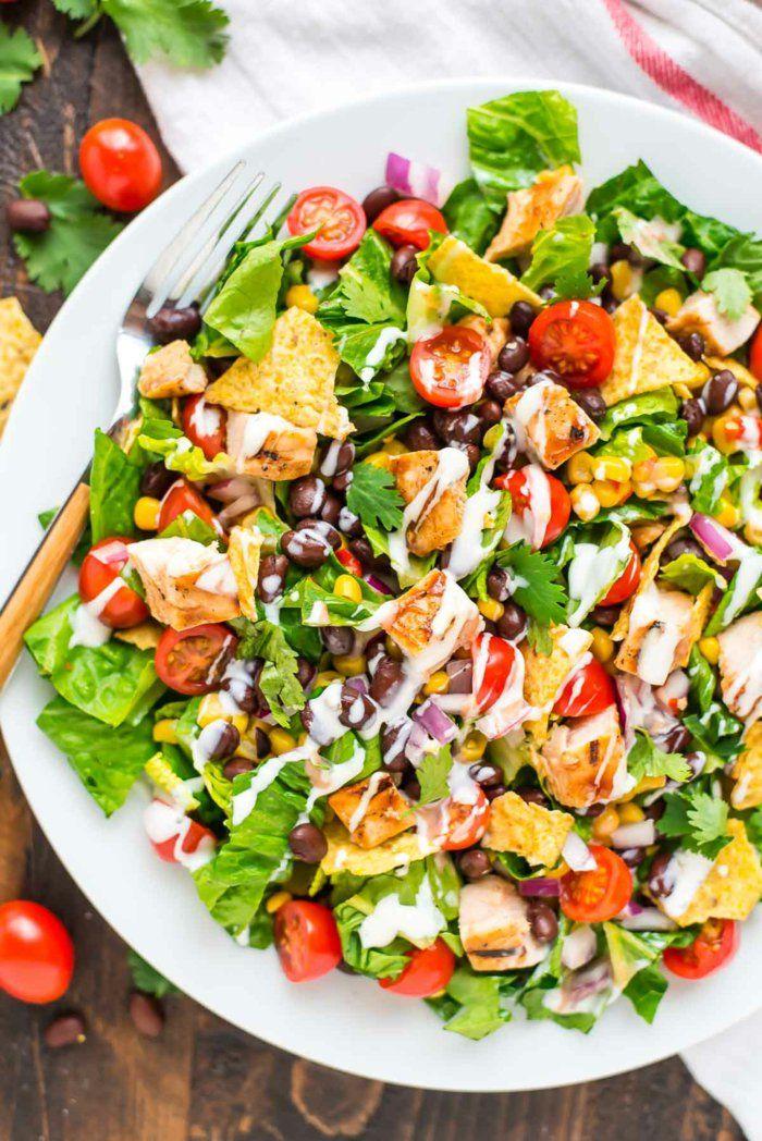 1001 id es comment pr parer la plus d licieuse salade compos e originale sal pinterest. Black Bedroom Furniture Sets. Home Design Ideas