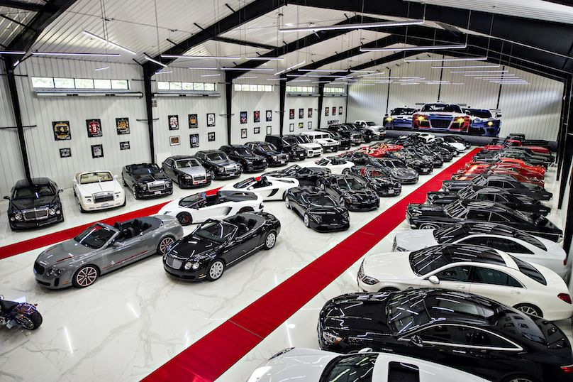 Man Cave Fort Nelson : Ultra luxury man cave houses one man's multi million dollar car