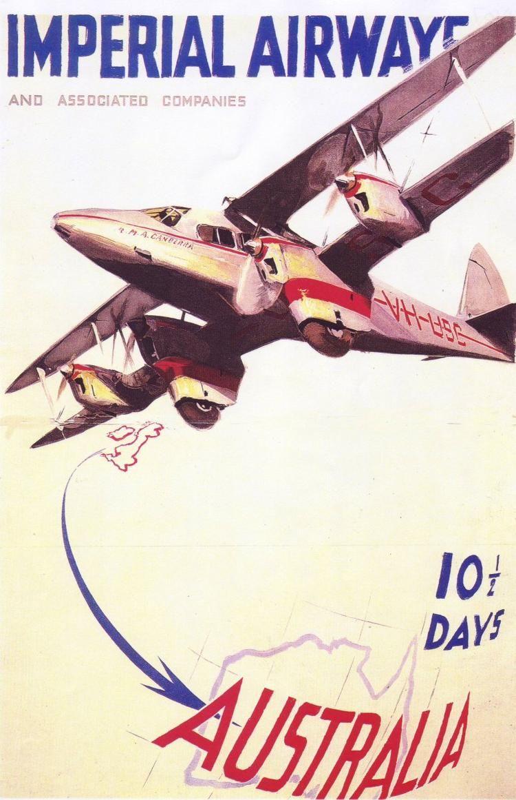 Imperial Airways London > Australia in 10.5 Days