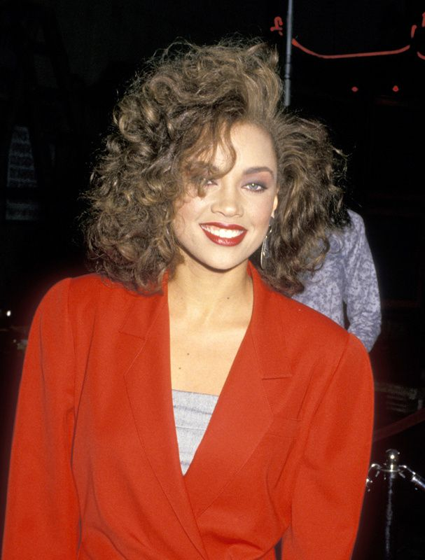 1988 At The Premiere Of Her Debut Album The Right Stuff Vanessa Williams Celebrity Stars Beautiful Black Women