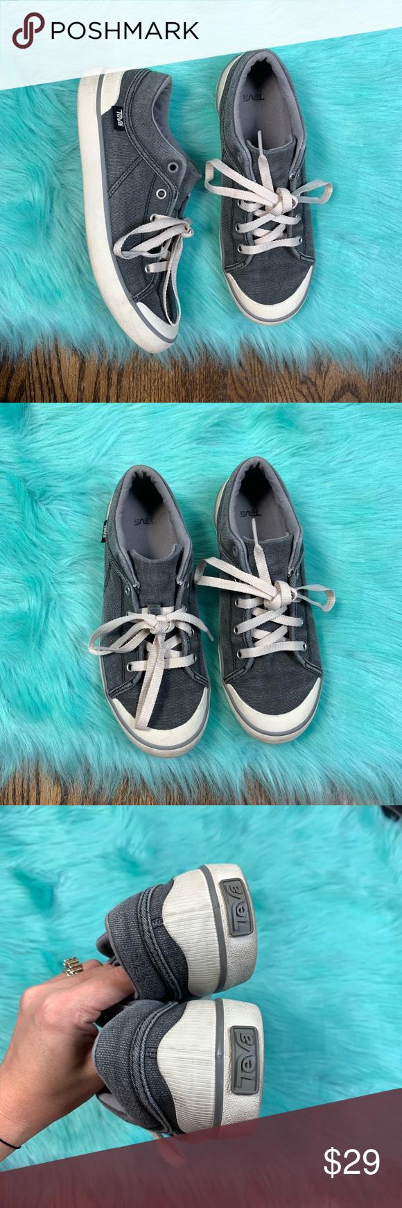 Teva Freewheel Washed Canvas Sneaker