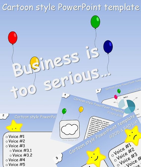 Powerpoint - Business is too serious - Download digitale