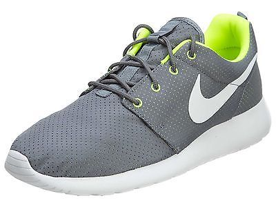 Nike Roshe One Mens 511881-091 Grey Volt Mesh Athletic Running Shoes Size 8
