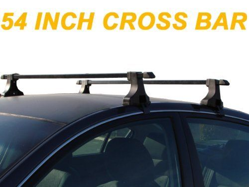54 Car Top Roof Cross Bars Crossbars Luggage Cargo Carrier Rack Window 135cm For Honda Odyssey Pilot Mdx Bmw Luggage Carrier Mercedes Benz Gl Car Roof Racks